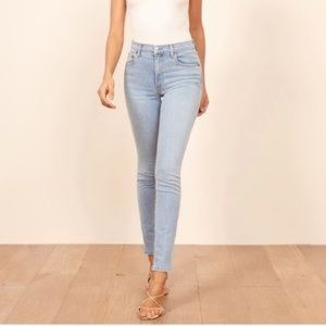 Reformation High & Skinny St Lucia Wash Jeans